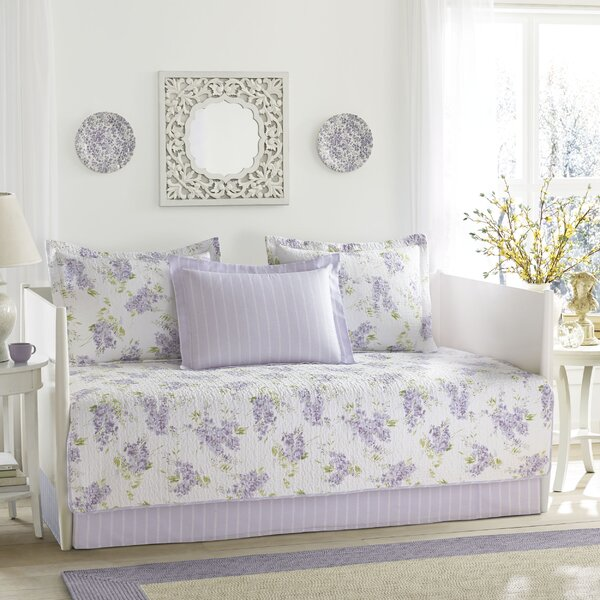 Keighley 100% Cotton 5 Piece Twin Daybed Set by Laura Ashley Home by Laura Ashley Home